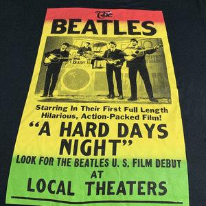 The Beatles Hard Days Night Rock Tee 3xl